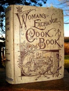 1901 Antique Cookbook Victorian Cooking Recipes Kitchen Chef Cookery Domestic