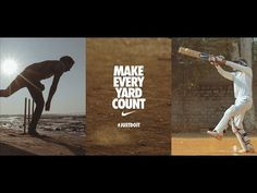 Now, this is Brilliant!   Nike Cricket brings a stunning crowdsourced film that features over 200,000 moments from thousands of cricket grounds across India, featuring 1,440 young cricketers that make every yard count.