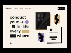 product design: home page by Vladimir Gruev for heartbeat on Dribbble Interaktives Design, Page Design, Event Design, Monospace, Directory Design, Ui Web, Web Layout, Interface Design, User Interface