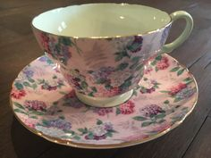 A personal favorite from my Etsy shop https://www.etsy.com/listing/480623959/vintage-shelley-chintz-pink-summer-glory