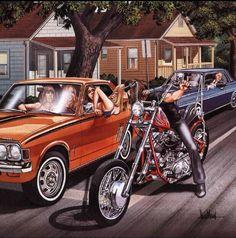 #davidmann #bikerart #bikerlife #ChopperExchange