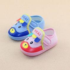 12-15 - Kaliteli Pamuk Malzemelerden Üretim Unisex İthal Bebek Ayakkabıları - 571612 - 6