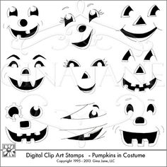 pumpkin faces - Google Search