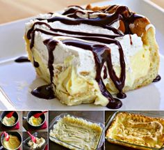 How to make chocolate eclair cake cake chocolate dessert food porn chocolate eclair diy dessert