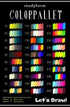 【カラーパレット】たった5色で描かれたイラストがハイセンスすぎる!【Twitterで話題】 - NAVER まとめ
