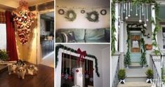 26 Genius Ideas to Decorate Your Christmas Home with Hanging Items Christmas Hacks, Christmas Home, Best Front Doors, Wood Butterfly, Christmas Window Display, Wall Hanging Crafts, Christmas Fashion, Outdoor Christmas Decorations, Beautiful Christmas