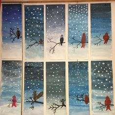 hiver Woman Knitwear and Sweaters womans sweater vest Winter Art Projects, School Art Projects, Classe D'art, 2nd Grade Art, Grade 1, Kindergarten Art, Art Lessons Elementary, Art Classroom, Art Plastique