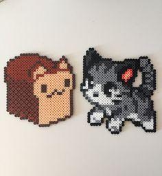 Pane di gattino o gatto Perler Bead