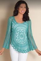 Sweet Nothings Crochet Spotted at Spotlight - 2, free crochet ladies top pattern, free crochet motif pattern