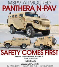 Armored Military Vehicles SENEGAL