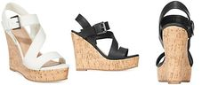 Rampage Helman Platform Wedge Sandals