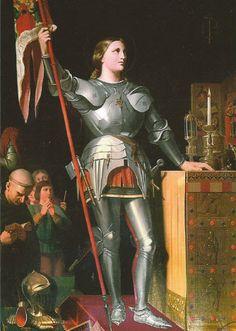 Portrait of St. Joan of Arc