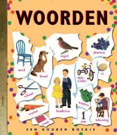 Woorden *** Gouden boekjes *** Een klassiek Gouden Boekje over woorden. Woorden die te maken hebben met allerlei thema's die kinderen zeker zullen aanspreken. Het gaat over familie, over dieren, vogels, dingen die groeien en dingen om te doen. De illustraties in dit boekje zijn heerlijk vintage zoals u van de Gouden Boekjes gewend bent!