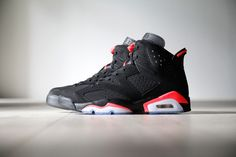 A Closer Look at the Air Jordan 6 Retro Black/Infrared 23 | HYPEBEAST
