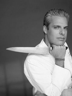 Eric Ripert - Someday I will be in 10 Arts having a drink & Eric will walk in.  At which point, I will faint.  This chance encounter is why I am never leaving Philadelphia!