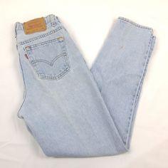 Vtg Levis 512 Slim Fit Taper Leg Stone Wash Sz 8 M Distressed Mom Jeans  Made USA  Levis  SlimSkinny  Casual. Antique Treasure Trove 462b5b7b12