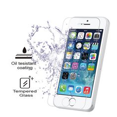 0.33mm ultra clear screen guard tempered glass for Apple 5S/6/6S/6Plus/6s Plus