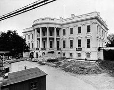 20 Historical Photos of President Harry Truman's Immense White House Renovation