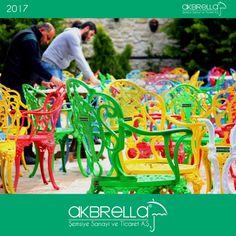 #bahçemobilyası @bahçemobilyaları Renkli bahçe mobilyaları ferforje sandalye ve masa modelleri