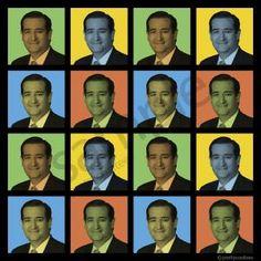 Ted Cruz Pop-Art T-Shirt