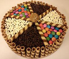 wafer basket designer gems cake