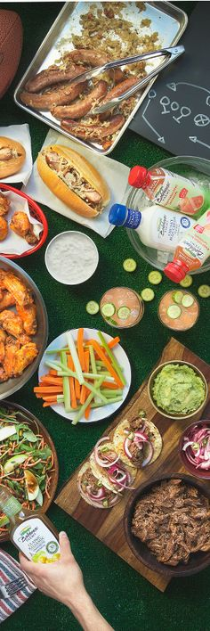 Are you ready for the Big Game this Sunday? We'll help make your football party a success with these pro football players recipes.