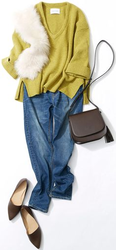 きれい色×デニムで秋のスイーツ巡り! ルミネ新宿のアイテムを使ってデニムの着こなしバリエーションをご紹介。人気スタイリスト入江未悠さんが「大人かわいい」をテーマに、上品でまねしやすいスタイリングを提案します!