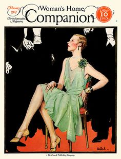 Woman's Home Companion, Feb. 1927. Cover by Jay Hyde Barney.