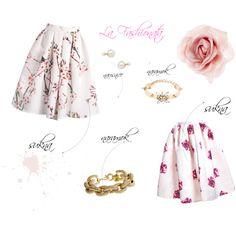 """Floral Skirts"" by la-fashionata on Polyvore Floral Skirts, Ballet Skirt, Flowers, Polyvore, Fashion, Moda, La Mode, Floral Pencil Skirt, Fasion"