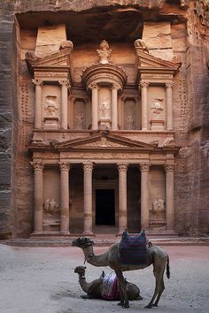 Petra, Jordan.  One of the most incredible places I've ever visited.