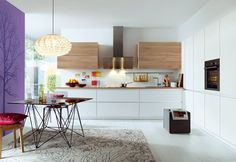 A Schüller Kitchen is made for you, with international award winning design, features and quality you would expect but at a price you wouldn't. A Schüller White Kitchen Cupboards, Handleless Kitchen, Modern Kitchen Cabinets, Wooden Kitchen, Modern Kitchen Design, Kitchen Designs, Kitchen Ideas, Kitchens And Bedrooms, Kitchen Family Rooms