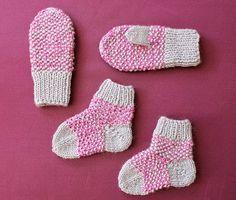 babykitt sockor vantar i mosstickning
