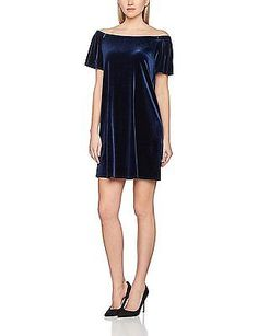 Womens Mesh Yoke Bardot Dress New Look