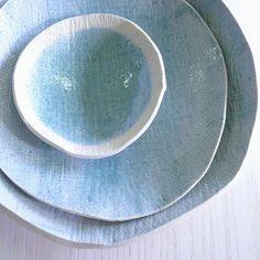 Lovely blue ceramics..want!