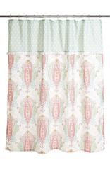 Dena Home_Shower Curtain_'Peacock' Shower Curtain | Kenshō Home