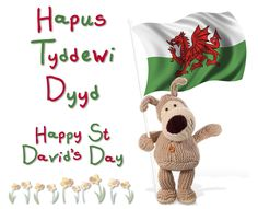 how to say happy st david day in welsh