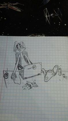 When bored in class