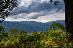 The Smoky Mountains are so beautiful. Hiking to a view like this is worth it!