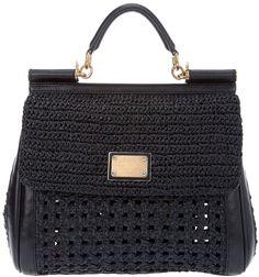 Dolce & Gabbana Miss Sicily Bag in Black - Lyst