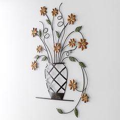 Fetco Danielle Floral Wall Decor
