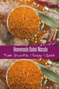 Dabeli Masala is an essential component of making Katchi Dabeli and the homemade version of this spice mix tastes delicious. Made using basic ingredients, this masala mix takes the Dabeli to a next level. Here is how to make Dabeli Masala Recipe at home. Masala Powder Recipe, Masala Recipe, Fun Easy Recipes, Snack Recipes, Cooking Recipes, Bread Recipes, Chats Recipe, Masala Spice, Chaat Masala