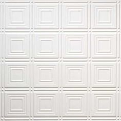 Pattern - All Colors - Faux Tin Ceiling Tiles Faux Tin Ceiling Tiles, Ceiling Trim, Tin Tiles, Popcorn Ceiling, Wine Cellars, Tile Patterns, Kitchens, Decor Ideas, Diy