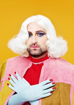 Tim and Eric photographed for Paper Magazine