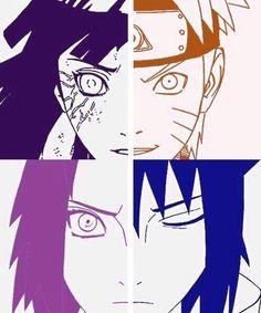 The real naruto love cycle. Naruto+Hinata=❤️ Sasuke+sakura=❤️