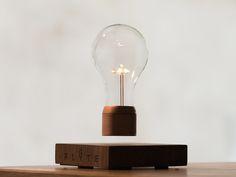 Magnetic Levitating Lamp – Fubiz™