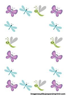 17 Best images about Clip art on Diy And Crafts, Paper Crafts, Boarders And Frames, Page Borders, Borders For Paper, Binder Covers, Butterfly Flowers, Butterflies, Stationery Paper