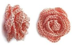 crochet ...coiled spiral Rose *