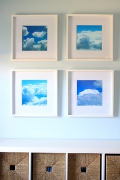 6th Street Design School: DIY Cloud Art