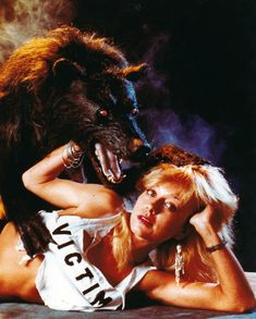 Linnea Quigley..one of the 80s scream queens