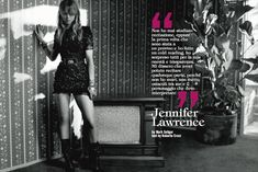 Jennifer Lawrence // Italian Vogue